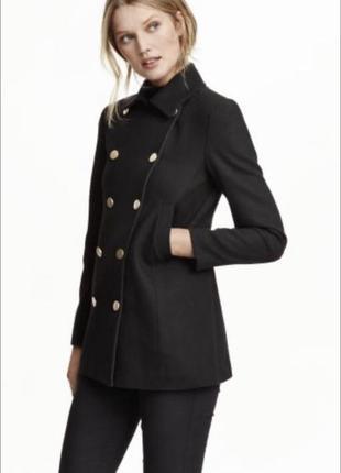 Пиджак / жакет утопленный шерсть в стиле zara
