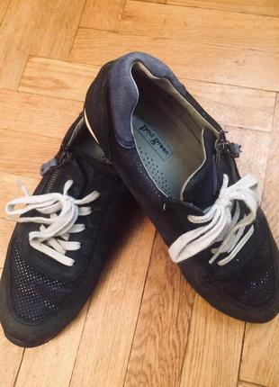 Мега комфортные кроссовки,спортивные туфли,полностью кожа от paul green,австрия