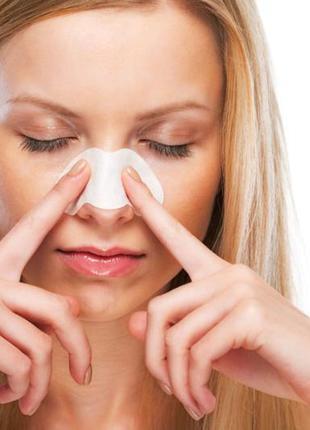 Очищающие полоски для носа от черных точек