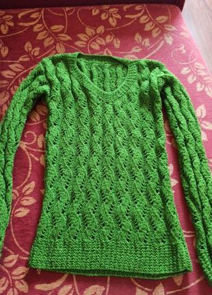 Зелёный свитерок