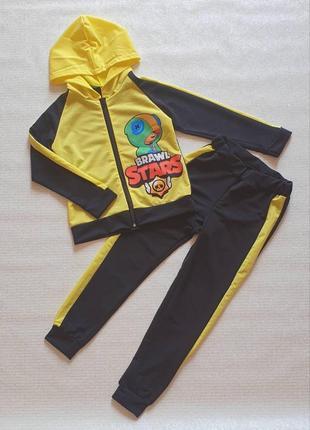 Распродажа!!!спортивный костюм на змейке brawl stars бравл старс
