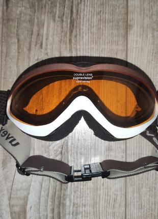 Брендовая горнолыжная маска, очки uvex
