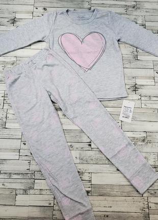 Милая пижамка фламинго р.122-134
