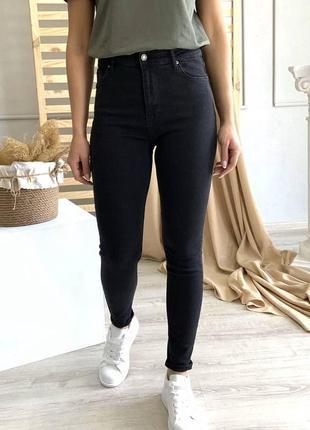 Жіночі джинси скінни висока посадка турция