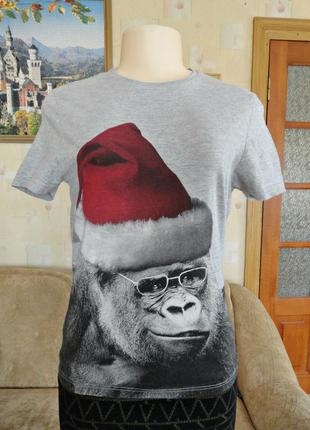 Классная футболка с обезьяной / burton
