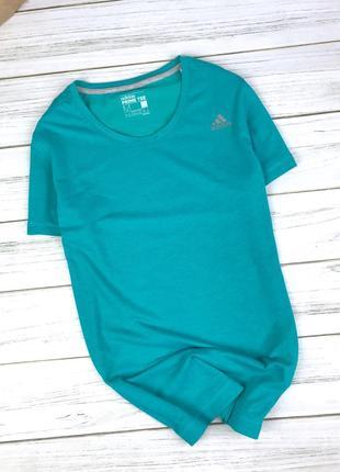 Спортивная футболка adidas prime tee изумрудного цвета
