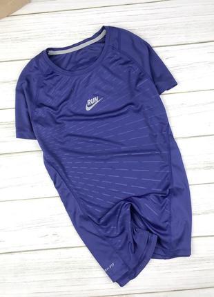 Тренинговая футболка nike dri fir run женская