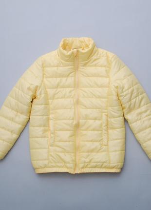 Куртка демисезонная, ultralight - суперлегкая, стеганая желтая pepco 152