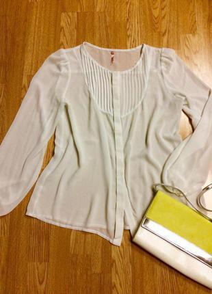 Шикарная фирменная блуза sweewe paris,рубашка,блузочка+подарок ремешок