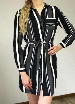 Классное платье рубашка new look