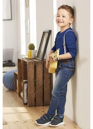 Супер джинсы с подтяжками для мальчика 1,5-2 года. новые. германия lupilu