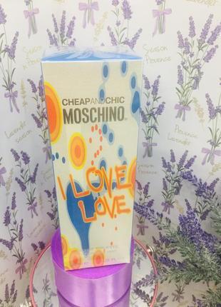 Туалетна вода для жінок moschino i love love 100 мл