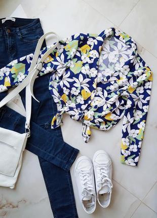 Крутая цветочная рубашка