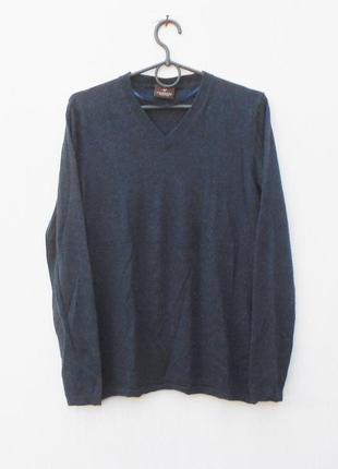 Мягкий уютный осенний весенний свитер  джемпер шелк кашемир с длинным рукавом