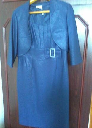 Красивый костюмчик:платье и болеро (польша)