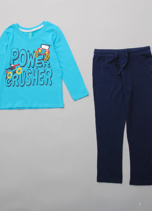 Комплект реглан и штаны с машинками pepco