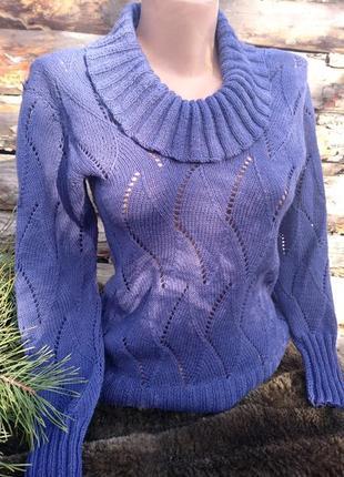 Нарядный джемпер, женский свитер из кашемира, теплая нарядная кофточка
