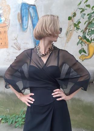 Накидка блузка из органзы
