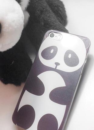 Чехол панда для iphone 5/5s