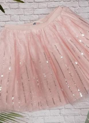 Пышная фатиновая юбка h&m на 9-10 лет