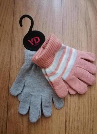 Перчатки набор перчаток комплект young dimensions на 7 лет