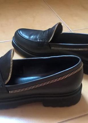 Туфли кожаные attizzare