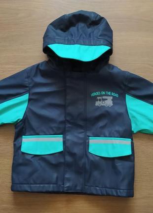 Курточка, ветровка дождевик на флисе lupilu 75 грн.