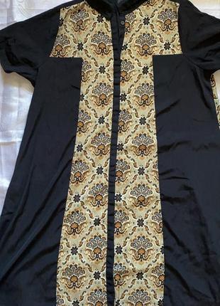 Платье-рубашка  с принтом пейсли asos curve