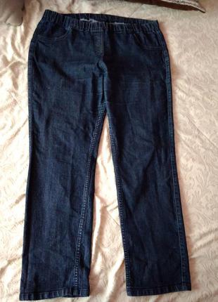 Джеггинсы леггинсы узкие джинсы большой размер
