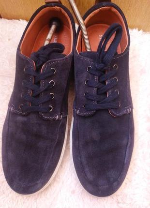 Мужские кроссовки из натуральной замшевой кожи бренда pier one
