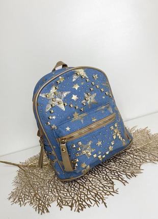 Джинсовый рюкзачек
