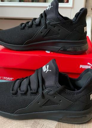 Черные мужские кроссовки puma размер 44 - 45