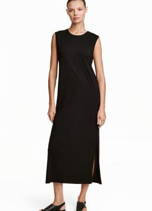 Новое длинное платье h&m