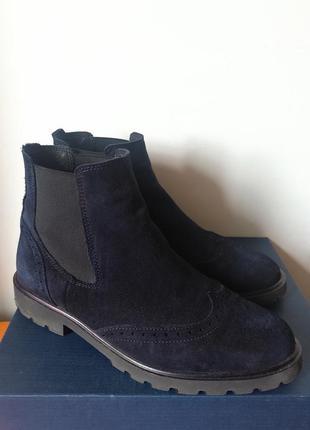Ботинки respect + в подарок синий спрей по уходу за обувью