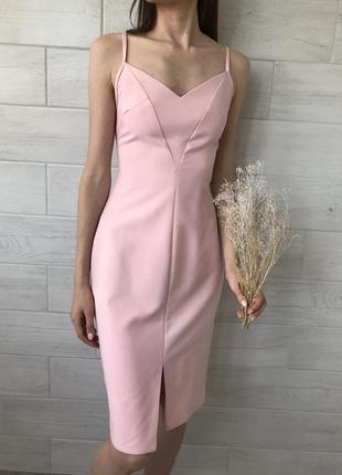 Платье миди (новое)