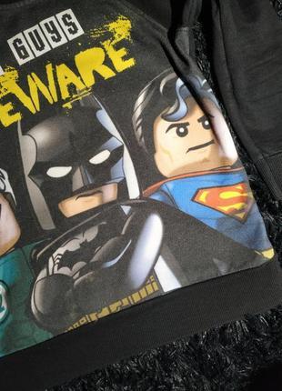 Тепла кофта з супер героями3 фото