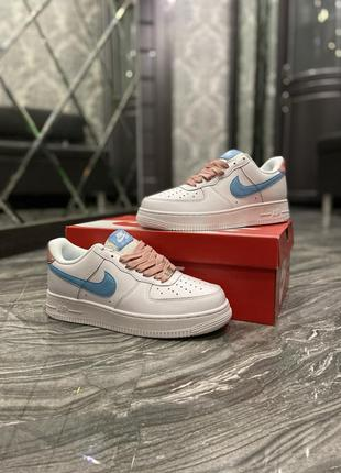 Nike air force 1 low white blue