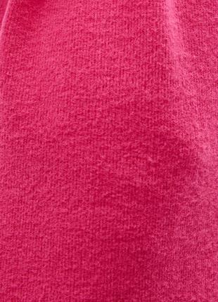 Мягкое платье туника с поясом и коротким рукавом {не на флисе}4 фото