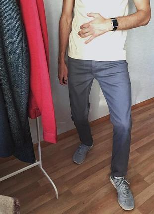 Мужские джинсы серые denim co джинси