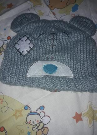 Шапочка та рукавиці зимові