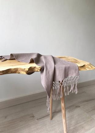 Льняное полотенце рушник