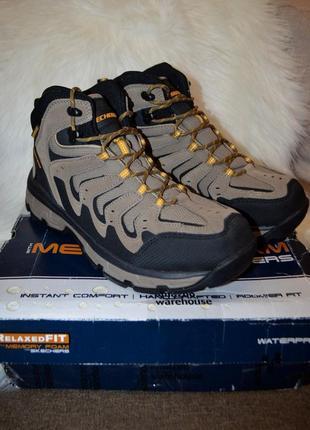 Демисезонные ботинки skechers morsen 11.5us 45.5 размер 29.5 см