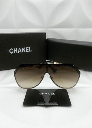 Шикарные женские солнцезащитные очки в стиле chanel🔥люкс качество