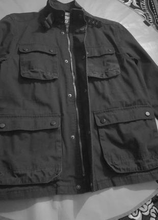 Скидка!!!офигенная котоновая куртка