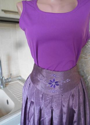 #распродажа #bonita#яркая трикотажная майка флокс # блуза в резинку#базовый топик #