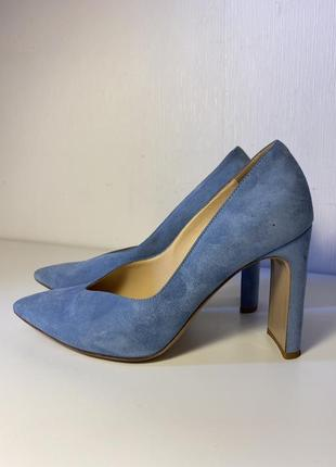 Замшевые туфли лодочки fabio rusconni 37 размер