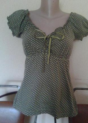 Фирменная футболка-майка-блуза от mim