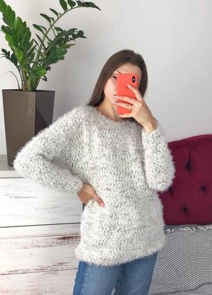 Удлинённый свитер травка 1+1=3