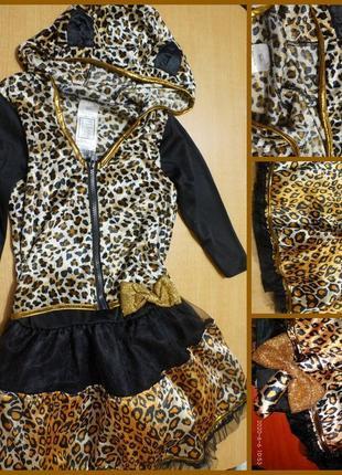 Карнавальный костюм леопарда 8-10 лет карнавальний новогодний новорічний