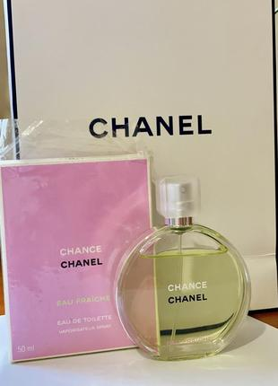 Chanel - туалетная вода chance eau fraiche